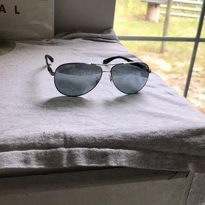 RayBan polarized aviator sunglasses RB8313 004/k6
